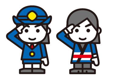 女性消防団員