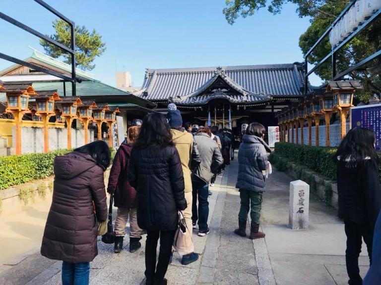 大津神社の初詣