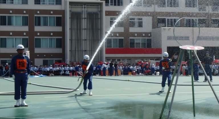 消防署出初め式