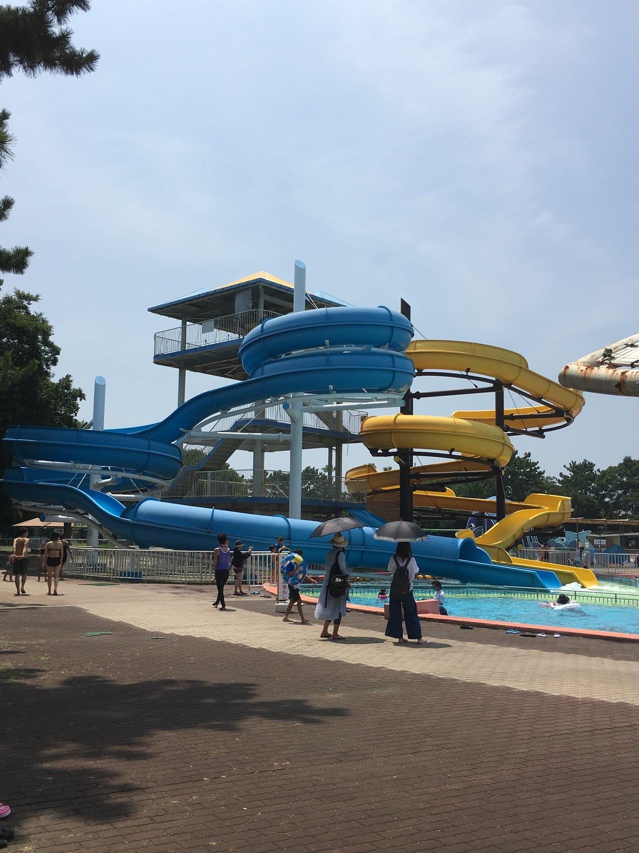 浜寺公園プールオープン