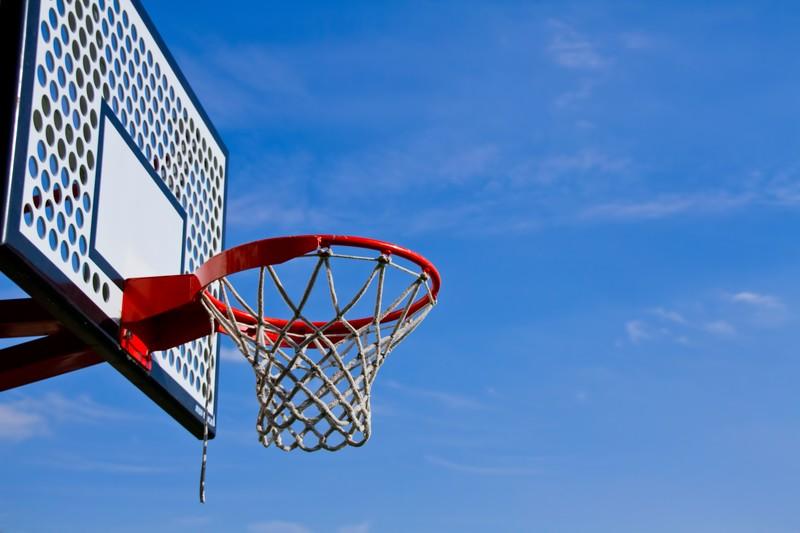 エヴェッサバスケットボール寄贈